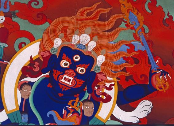 Demon Lingshot Gompa N India