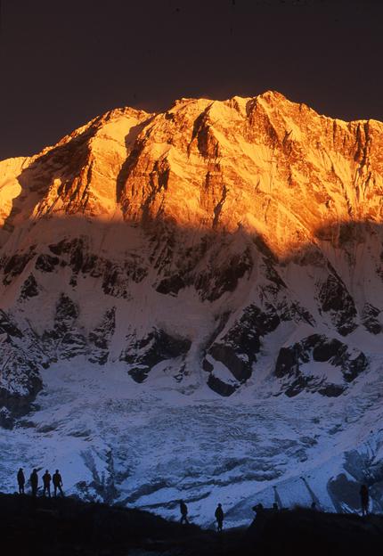 Sunrise, Annapurna Sanctuary, Nepal