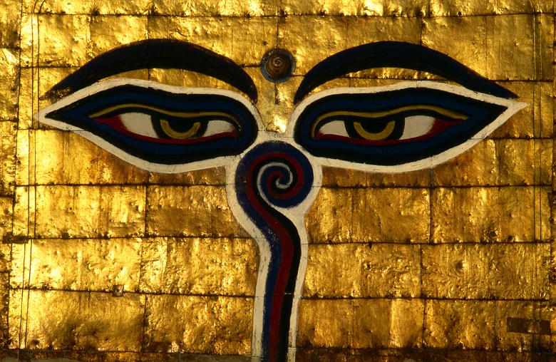 Eyes Of The Buddha, Swyambunath, Kathmandu, Nepal