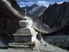 Chorten Near Lamayuru Ladakh N India