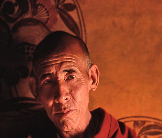 Monk, Thikse Ghompa, Ladakh, India