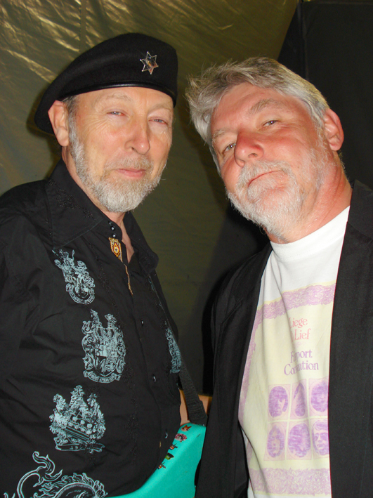 Simon Nichol And Richard Thompson, Cropredy 2007