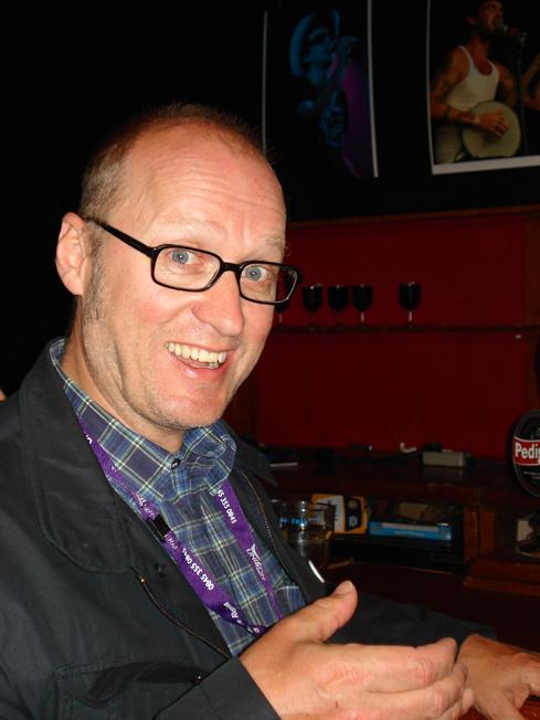 Ade Edmondson, Cambridge Folk Festival, 2008