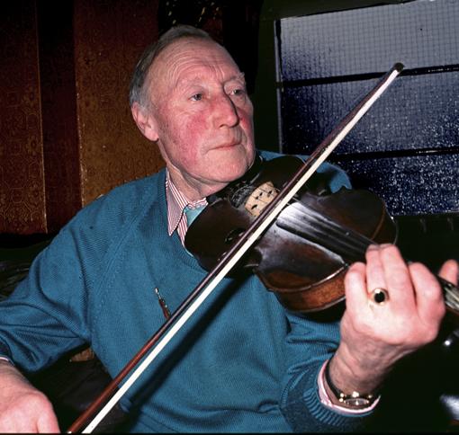 Bernard Riley, Fiddler, Manchester, Circa 1992