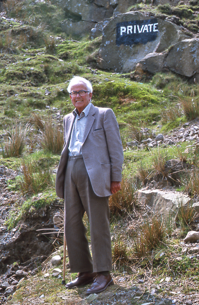 Tom Stephenson, Creator of the Pennine Way On The Edge Of Forbidden Land, The Bowland Fells